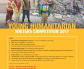 YOUNG HUMANITARIAN WRITERS COMPETITION 2017
