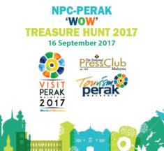 The NPC-PERAK 'WORLD OF WONDERS' Treasure Hunt 2017