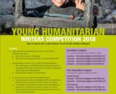 YOUNG HUMANITARIAN WRITERS COMPETITION 2018