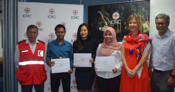 4 Young Writers win prizes for Essays on Challenges in Humanitarian Space