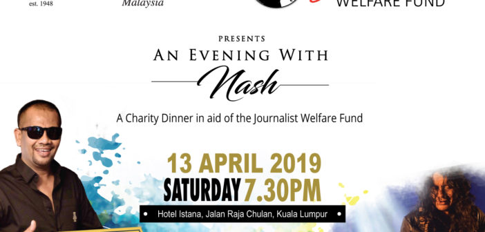 A Charity Dinner in aid of the Journalist Welfare Fund- 13 April 2019