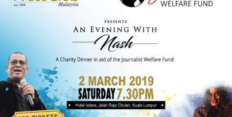 A Charity Dinner in aid of the Journalist Welfare Fund